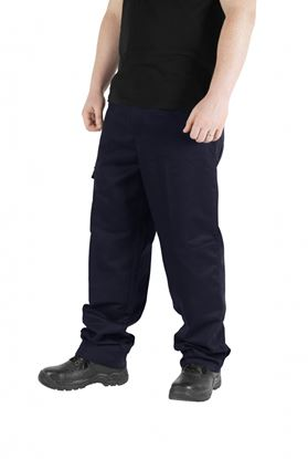 Picture of Glenwear Moriston Navy Work Trouser 50W 34L