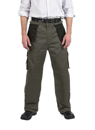 Picture of Glenwear Strath Two Tone Work Trouser 4834