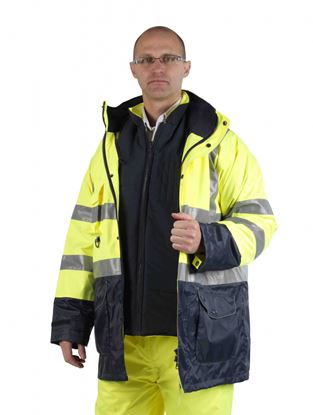 Picture of Glenwear Glencoe Two Tone 12 in 1 Hi Vis Kit XL