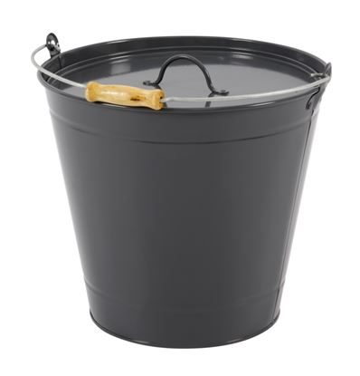 Picture of Hearth  Home Ash Bucket With Lid 14L