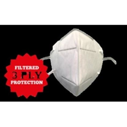 Picture of 1St Aid Disposable KN95 Face Mask 3 Pack