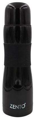 Picture of Casa Casa Silicon Grip Flask Black 500ml