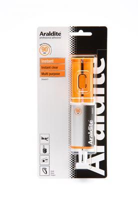 Picture of Araldite Instant Clear 24ml Syringe