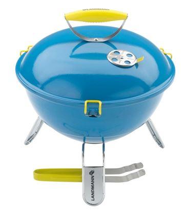 Picture of Grill Chef Piccolino Barbecue Azure