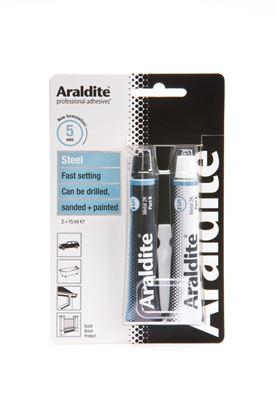 Picture of Araldite Rapid Steel 2 x 15ml Tubes
