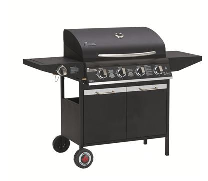 Picture of Grill Chef Gas Barbecue With Side Burner 4 Burner