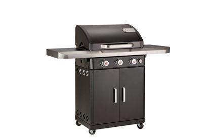 Picture of Grill Chef Rexon Black Gas Barbecue 3.1 Burner