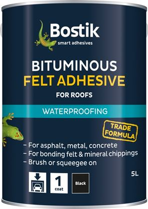 Picture of Bostik Bituminous Felt Adhesive for Roofs 22.5L