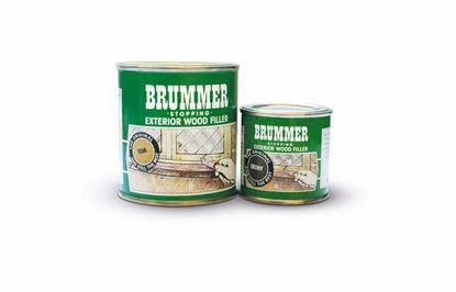 Picture of Brummer Green Label Exterior Filler 225g Dark Mahogany