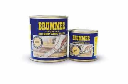 Picture of Brummer Yellow Label Interior Filler 700g Dark Mahogany