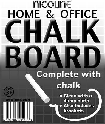 Picture of Nicoline Chalk Board 60cm x 40cm