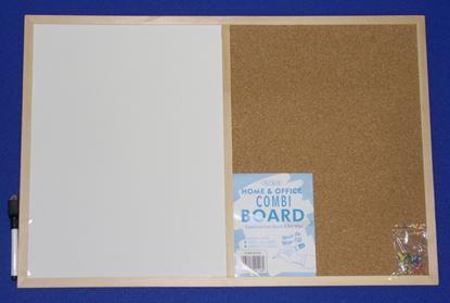 Picture of Nicoline Combi Boards half Cork  half Write-onWipe-off 60cm x 40cm