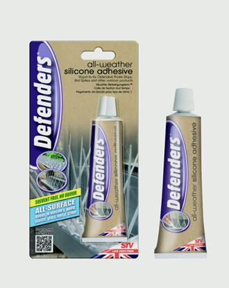 Picture of Defenders All Weather Silicone Adhesive 80g