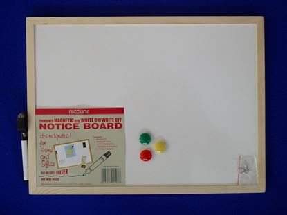 Picture of Nicoline Magnetic Dry Wipe Boards 30cm x 40cm