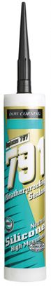Picture of Dow Corning 791 Weatherseal 310ml Black