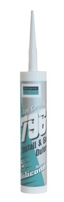 Picture of Dow Corning 796 PVC Silicone 310ml Golden Oak