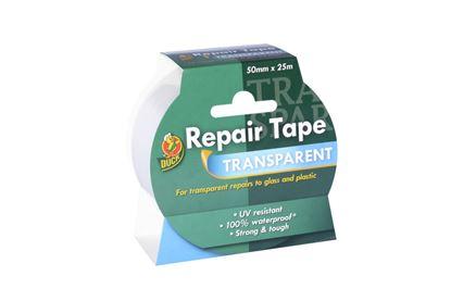 Picture of Duck Tape Transparent Repair Tape 50mm x 25m