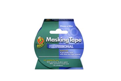 Picture of Duck Tape Professional Masking Tape Blue 25mm x 25m