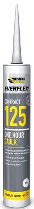 Picture of Everbuild 125 One Hour Caulk C4  White