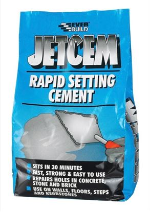 Picture of Everbuild Jetcem Rapid Setting Cement 3kg