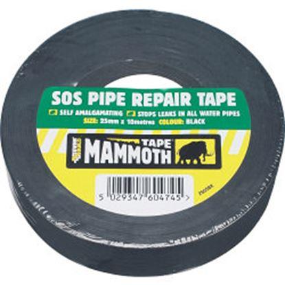 Picture of Everbuild SOS Pipe Repair Tape 25mm x 10m Black