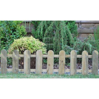 Picture of Ambassador Cottage Picket Fence 28 x 111cm