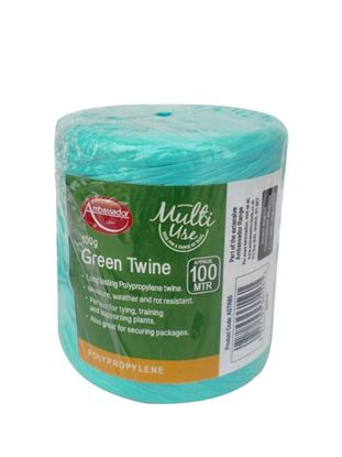 Picture of Ambassador Green Poly Twine Spool 150gm230m