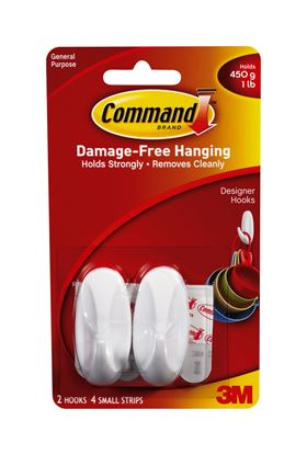 Picture of Command Small Hooks