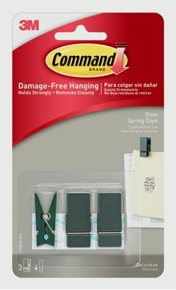 Picture of Command Small Spring Clip Slate