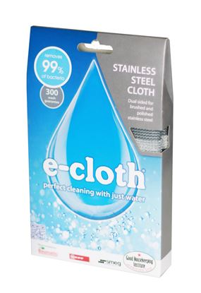 Picture of E-Cloth Stainless Steel Cloth 1 Cloth