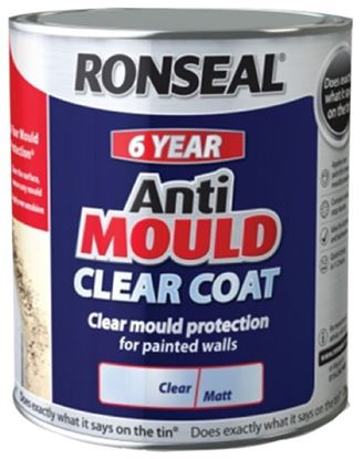 Picture of Ronseal 6 Year Anti Mould Clear Coat 2.5L