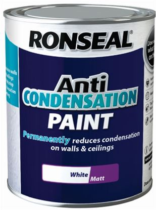 Picture of Ronseal Anti Condensation Paint White 2.5L