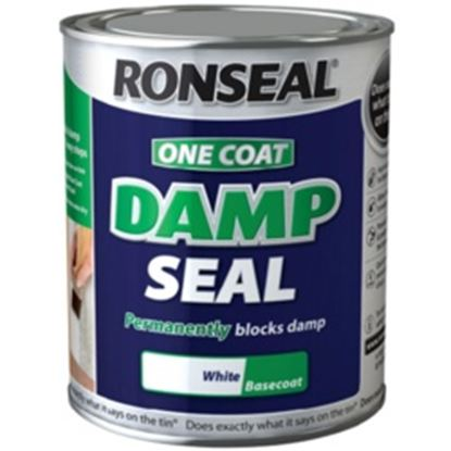 Picture of Ronseal One Coat D Seal White 2.5L