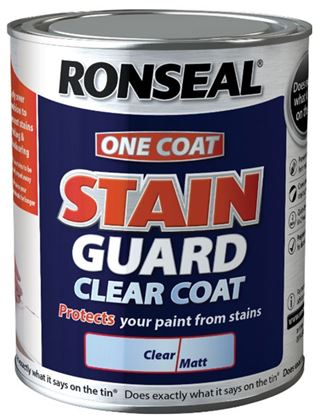 Picture of Ronseal One Coat Stain Guard Clear Coat 2.5L