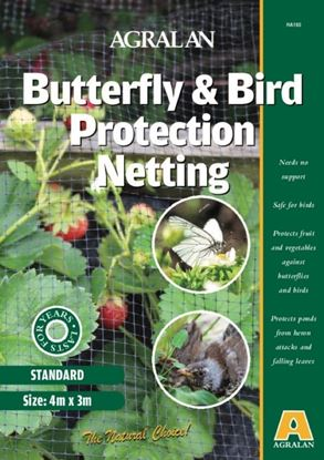 Picture of Agralan Butterfly  Bird Protection Netting 4 x 3m