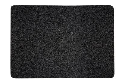 Picture of Groundsman Outdoor Polyethylene Mat Charcoal - 50 x 75cm