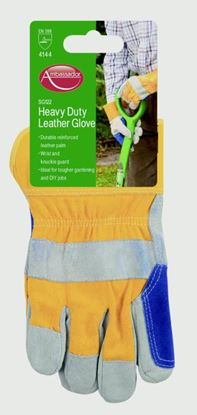 Picture of Ambassador Deluxe Heavy Duty Leather Glove Reinforced Leather Palm