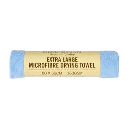 Picture of Groundsman Microfibre Drying Towel Xl - 80 x 62cm