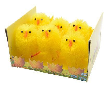 Picture of Kaemingk Chenille Yellow Chicks Box 6