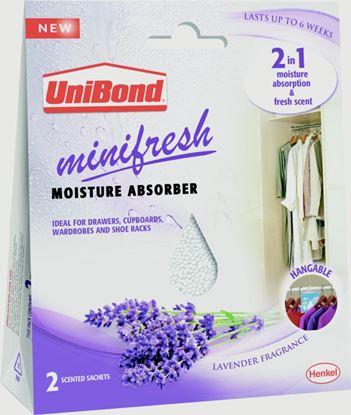 Picture of UniBond Minifresh Moisture Absorber 2 x 50g Sachets
