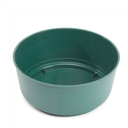 Picture of Oasis Green Bulb Bowl 24 x 9cm
