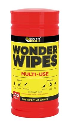 Picture of Everbuild Wonder Wipes Tub Of 100