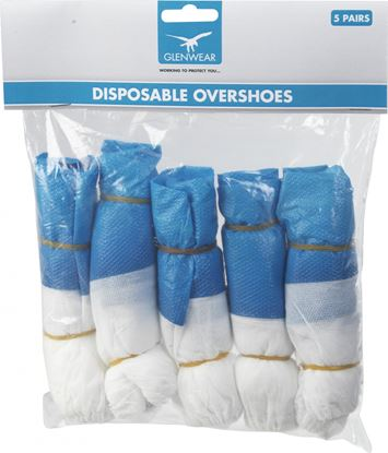 Picture of Glenwear Disposable Overshoes 5 pairs