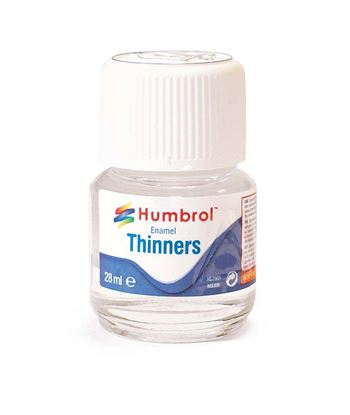 Picture of Humbrol Enamel Thinners 28ml Bottle
