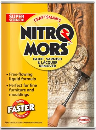 Picture of Nitromors Craftsmans Paint Varnish  Lacquer Remover 2L