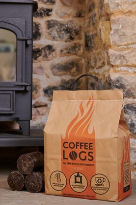 Picture of Biobean Bio-Bean Coffee Logs Pack 16 - 8kg