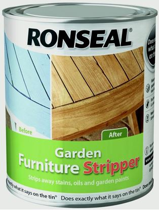 Picture of Ronseal Garden Furniture Stripper 750ml Clear