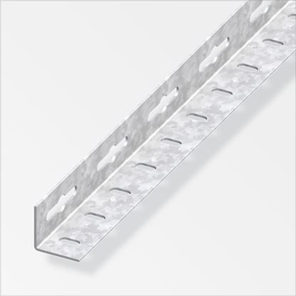 Picture of Alfer Angle Equal Galvanised Steel 35.5mm x 2.5m