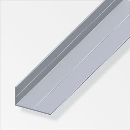 Picture of Alfer Angle Raw Aluminium 15.5mm x 27.5mm x 1m