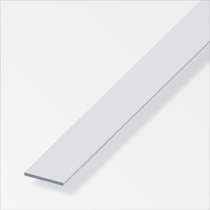 Picture of Alfer Flat Bar Anodised Aluminium 25mmx2mmx2m